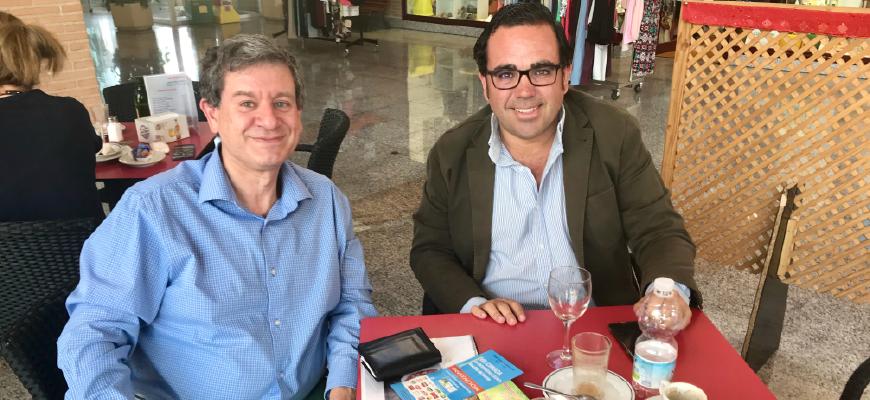 Desayuno de trabajo con Javier Úbeda