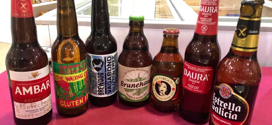 Nuevas cervezas sin gluten en la tienda Maná