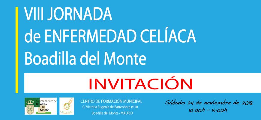 Te presentamos la VIII Jornada de Enfermedad Celíaca de Boadilla del Monte