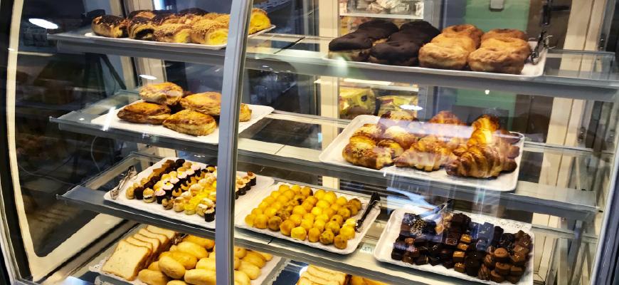 La pastelería fresca sin gluten de la tienda Maná
