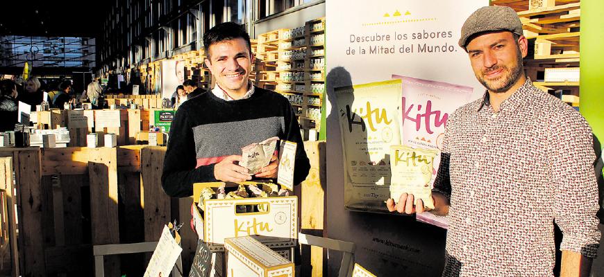 Kitu es el nuevo snack saludable sin gluten