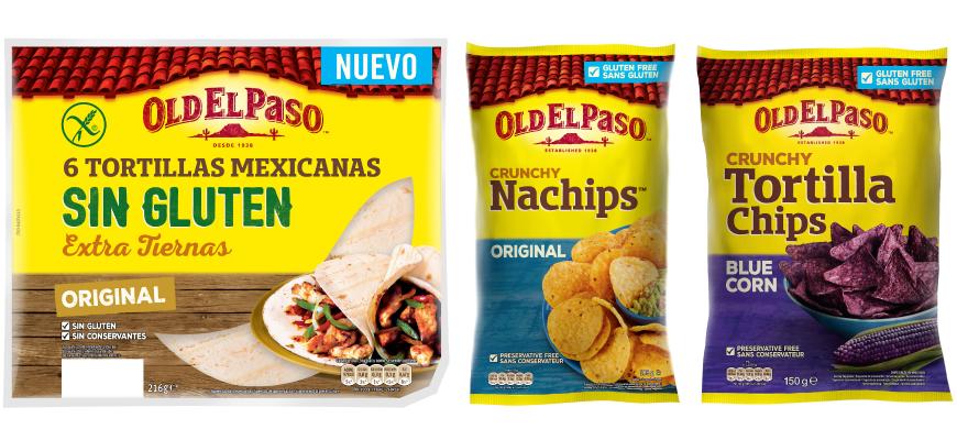 Los nuevos productos sin gluten de Old El Paso