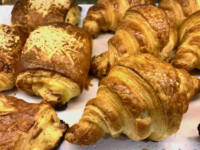 Napolitanas y croissants