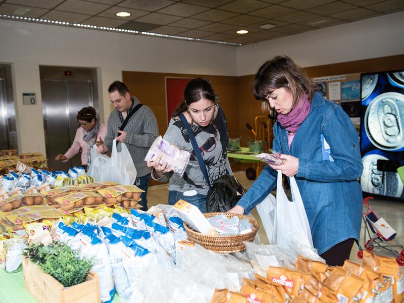 Donación de productos sin gluten
