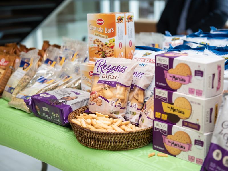 Productos sin gluten de Airos