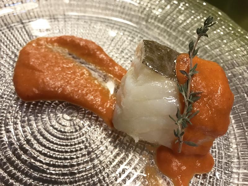 Bacalao con salsa vizcaína